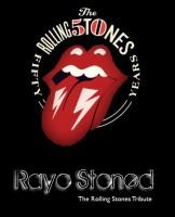 Poster Rayo SToned Lengua con rayos 50Aniversario